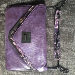 BCBGeneration lavender shoulder bag